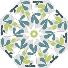 Elegant floral design Folding Umbrellas