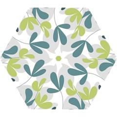 Elegant floral design Mini Folding Umbrellas
