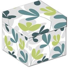 Elegant floral design Storage Stool 12