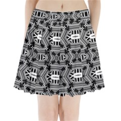 Cyber Celect Pleated Mini Skirt