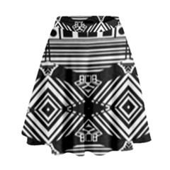 Si Ber Linx High Waist Skirt