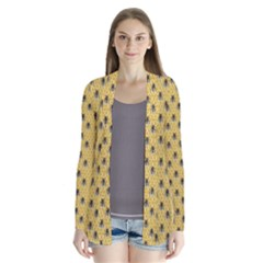 Bee Good! Drape Collar Cardigan
