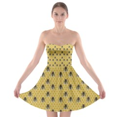 Bee Good Strapless Bra Top Dress