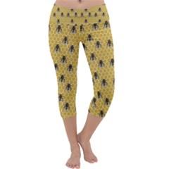 Bee Good Capri Yoga Leggings
