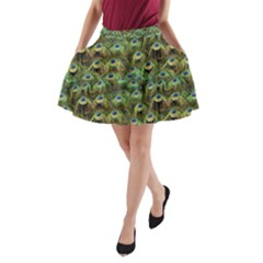 Peacocks Are The Best A-Line Pocket Skirt