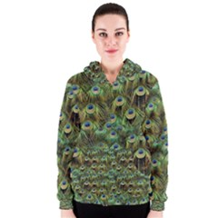 Peacocks Are The Best Women s Zipper Hoodie