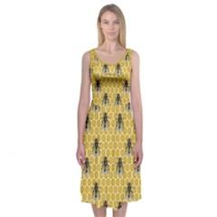 Bee Good, Honey Midi Sleeveless Dress