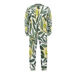 Green floral pattern OnePiece Jumpsuit (Kids)