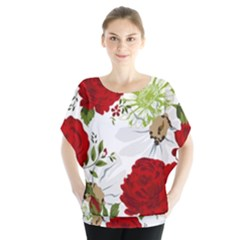 Red roses Blouse