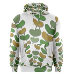 Green decorative plant Men s Pullover Hoodie