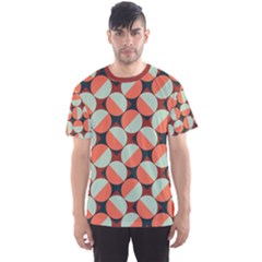 Modernist Geometric Tiles Men s Sport Mesh Tee
