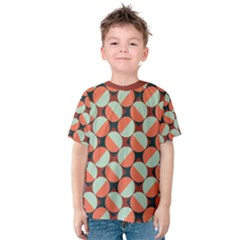 Modernist Geometric Tiles Kid s Cotton Tee