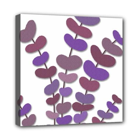 Purple decorative plant Mini Canvas 8  x 8