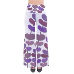 Purple decorative plant Pants