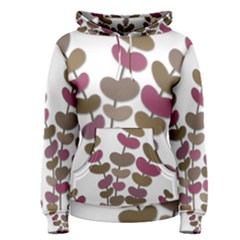 Magenta decorative plant Women s Pullover Hoodie