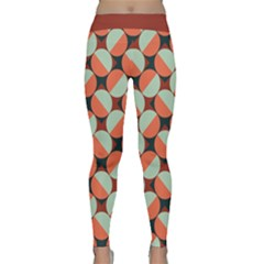 Modernist Geometric Tiles Yoga Leggings