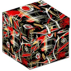 Artistic abstract pattern Storage Stool 12