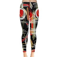 Artistic abstract pattern Leggings