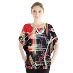 Artistic Abstract Pattern Blouse