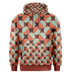Modernist Geometric Tiles Men s Pullover Hoodie