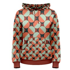 Modernist Geometric Tiles Women s Pullover Hoodie
