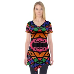 Monkey Best  Short Sleeve Tunic