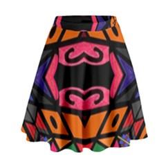 Monkey Best  High Waist Skirt