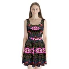 Ililii Split Back Mini Dress