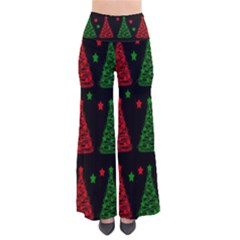 Decorative Christmas trees pattern Pants