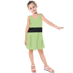 PPG green Kids  Sleeveless Dress