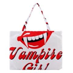 Vampire Girl Medium Tote Bag