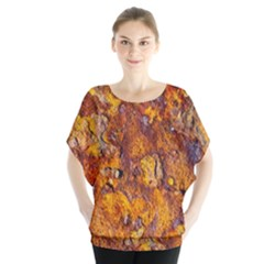 Rusted metal surface Blouse