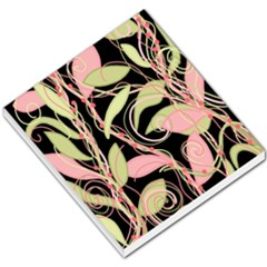Pink and ocher ivy Small Memo Pads