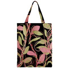 Pink and ocher ivy Classic Tote Bag