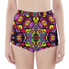 SEA LEAU High-Waisted Bikini Bottoms