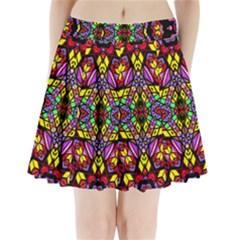 SEA LEAU Pleated Mini Skirt