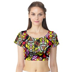 Onest Short Sleeve Crop Top (tight Fit)