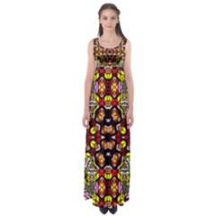 Ancient Spirit Empire Waist Maxi Dress
