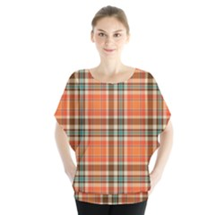 Autumn Plaid Blouse