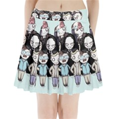 Serial Killers Pleated Mini Skirt
