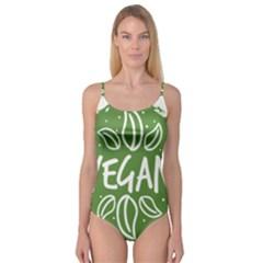 Vegan Label3 Scuro Camisole Leotard
