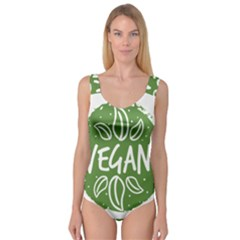 Vegan Label3 Scuro Princess Tank Leotard