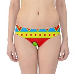 Birds pattern Hipster Bikini Bottoms