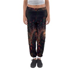 Multicolor Fractals Digital Art Design Women s Jogger Sweatpants