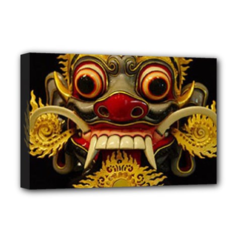 Bali Mask Deluxe Canvas 18  x 12