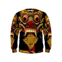 Bali Mask Kids  Sweatshirt