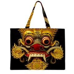 Bali Mask Large Tote Bag