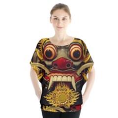 Bali Mask Blouse