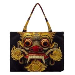 Bali Mask Medium Tote Bag