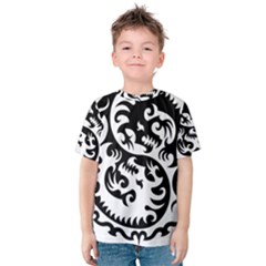 Ying Yang Tattoo Kids  Cotton Tee